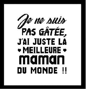 Affiche «Meilleure maman»