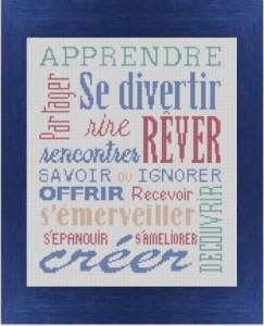 Affiche «APPRENDRE… RÊVER»