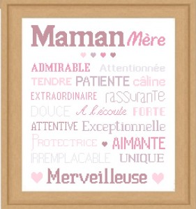 AFFICHE «MAMAN»