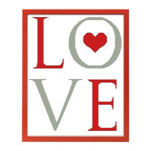 Affiche «LOVE» en petit ou grand format