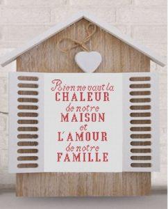 «Dans notre maison»