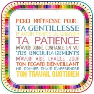 Poster «Merci maîtresse»