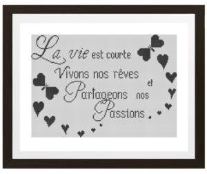 Poster «Partageons nos passions»