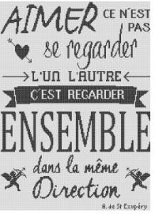 Affiche «Ensemble»