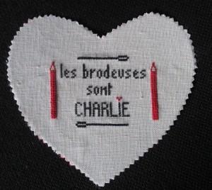 Les brodeuses sont CHARLIE….