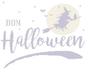 Grille « Bon Halloween »