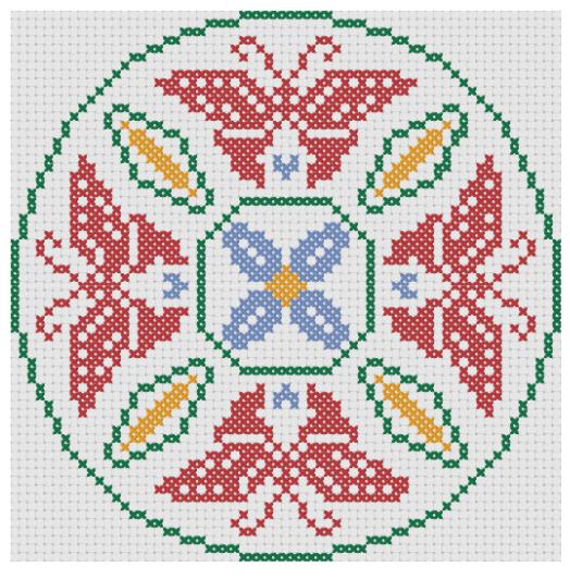 grille-point-de-croix-mandala