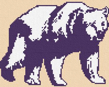 grille-point-de-croix-ours