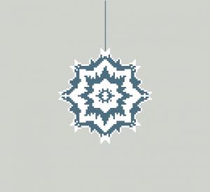 Grille « étoile de noël »