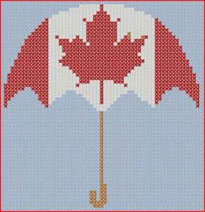 Parapluie canadien…
